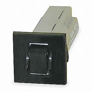 Circuit Breaker, Thermal Circuit Breaker Type, Rocker Switch Type, Number of Poles: 1