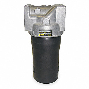 "9.11"" x 5.00"" Single Length Aluminum Hydraulic Pressure Filter"