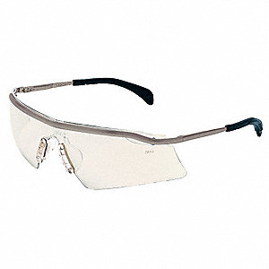 Persuader  Metal Scratch-Resistant Safety Glasses, Indoor/Outdoor Lens Color