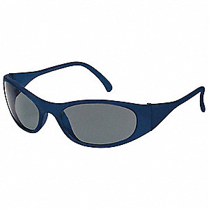 Freeze™ Scratch-Resistant Safety Glasses, Gray Lens Color