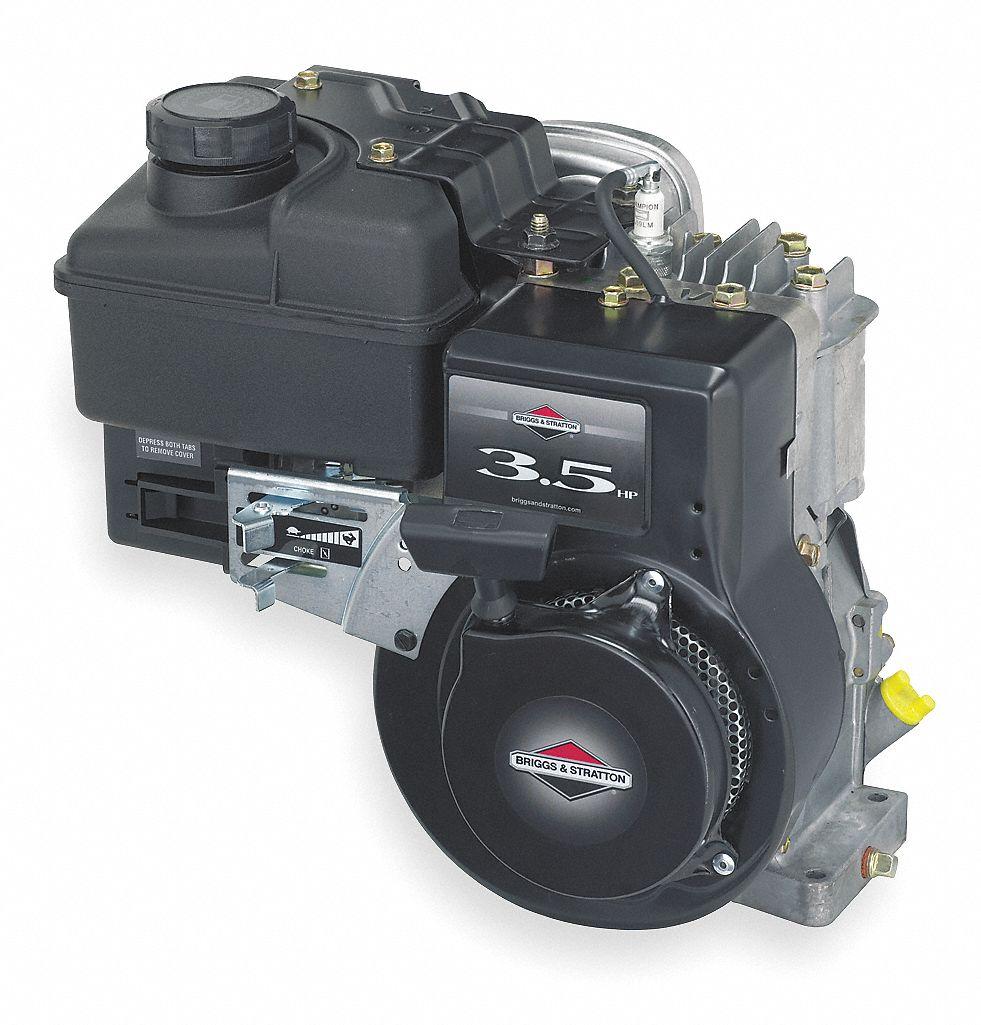 BRIGGS & STRATTON Engine, Gas, 3 5 HP - 4VB25|097332-0036-F1 - Grainger