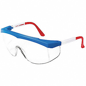 Maddog  III Scratch-Resistant Safety Glasses, Clear Lens Color