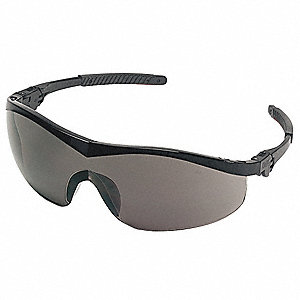 Thunder  Anti-Fog, Scratch-Resistant Safety Glasses, Gray Lens Color