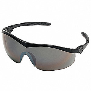 Thunder™ Scratch-Resistant Safety Glasses, Silver Mirror Lens Color