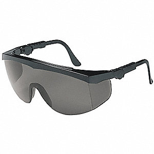 Spirit  Anti-Fog, Scratch-Resistant Safety Glasses, Gray Lens Color
