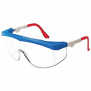 Spirit  Anti-Fog, Scratch-Resistant Safety Glasses, Clear Lens Color