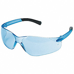 Wasko  Mini Scratch-Resistant Safety Glasses, Light Blue Lens Color