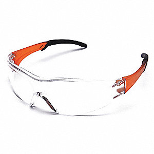 Chaise Rocks  Scratch-Resistant Safety Glasses, Clear Lens Color