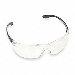 Brooklyn™ Scratch-Resistant Safety Glasses, Silver Mirror Lens Color