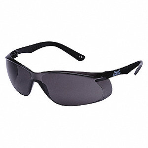 Jbird  Scratch-Resistant Safety Glasses, Gray Lens Color