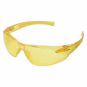 Safety Glasses,Amber