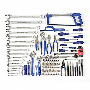 SAE Master Tool Set, Number of Pieces: 104, Primary Application: Starter