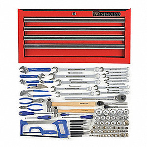 SAE Master Tool Set, Number of Pieces: 95, Primary Application: General Purpose