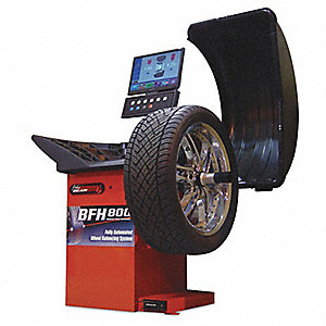 Fully-Automated Tire Balancer,30In,154lb