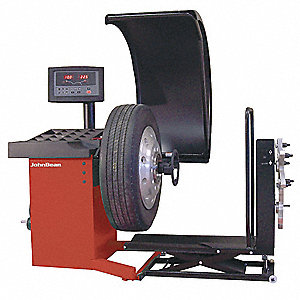 Hd Tire Balancer,21In,500lb,100 rpm,40mm