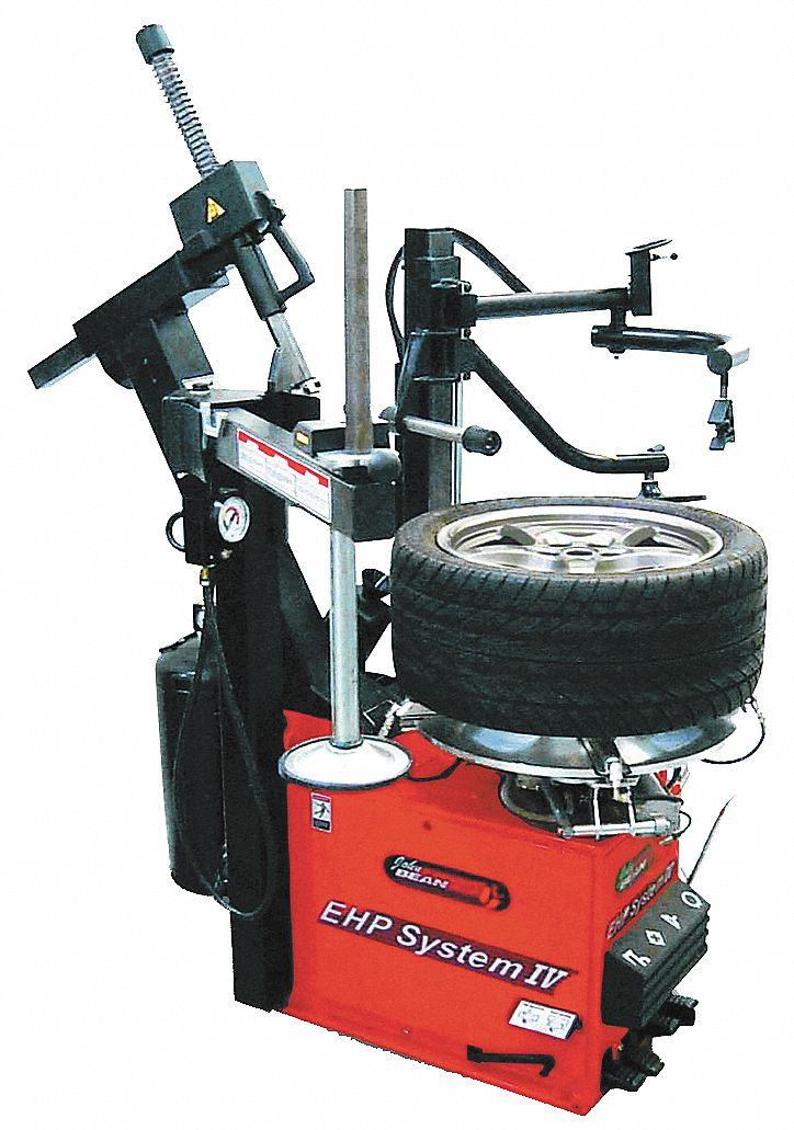 Tire Changer, L78In, 10-24In Outside Rim