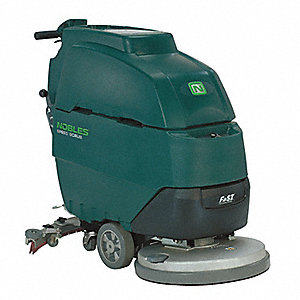 Walk Behind Floor Scrubber,Compact,Disc