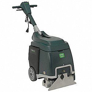 "Walk Behind Carpet Extractor, 5 gal., 115V, 65 psi, 15"" Cleaning Path"