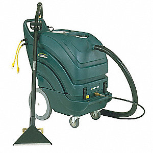 "Walk Behind Carpet Extractor, 15 gal., 115V, 250 psi, 13"" Cleaning Path"