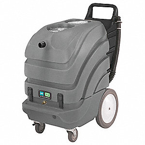 "Walk Behind Carpet Extractor, 15 gal., 115V, 100 psi, 13"" Cleaning Path"