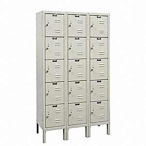 Box Locker,36 In. W,12 In. D,66 In. H