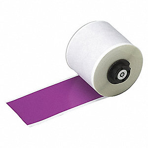 "Indoor/Outdoor Vinyl Film Label Tape Cartridge, Purple, 2""W x 50 ft."