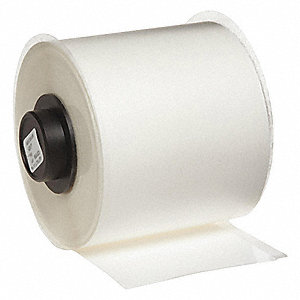 "Indoor Polypropylene Tape, White, 2""W x 50 ft."