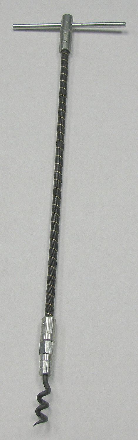 Flexible Shaft F-3 Packing Extractor, Removable Tip