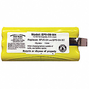 Battery Pack,NiMH,7.5V,For Jobcom