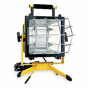 500 x 2W Halogen Temporary Job Site Light, 120VAC