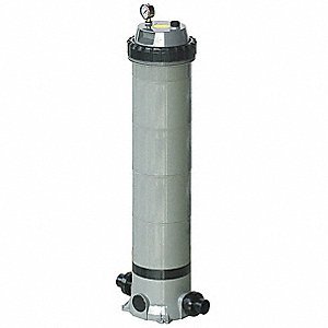 "42-3/4""H Pool and Spa Filter, 1 GPM per Sq.-Ft., 100.8 Total (GPM)"