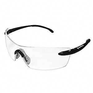 Smith & Wesson® Caliber Anti-Fog, Scratch-Resistant Safety Glasses, Clear Lens Color