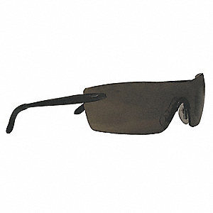 Smith & Wesson® Caliber Anti-Fog, Scratch-Resistant Safety Glasses, Smoke Lens Color