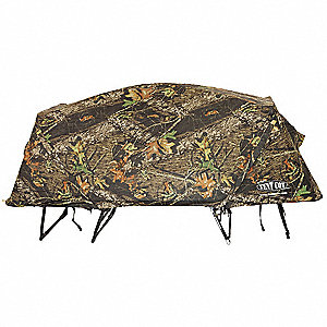 Camo Rain Fly for Double Tent Cot&#x3b; Camouflage