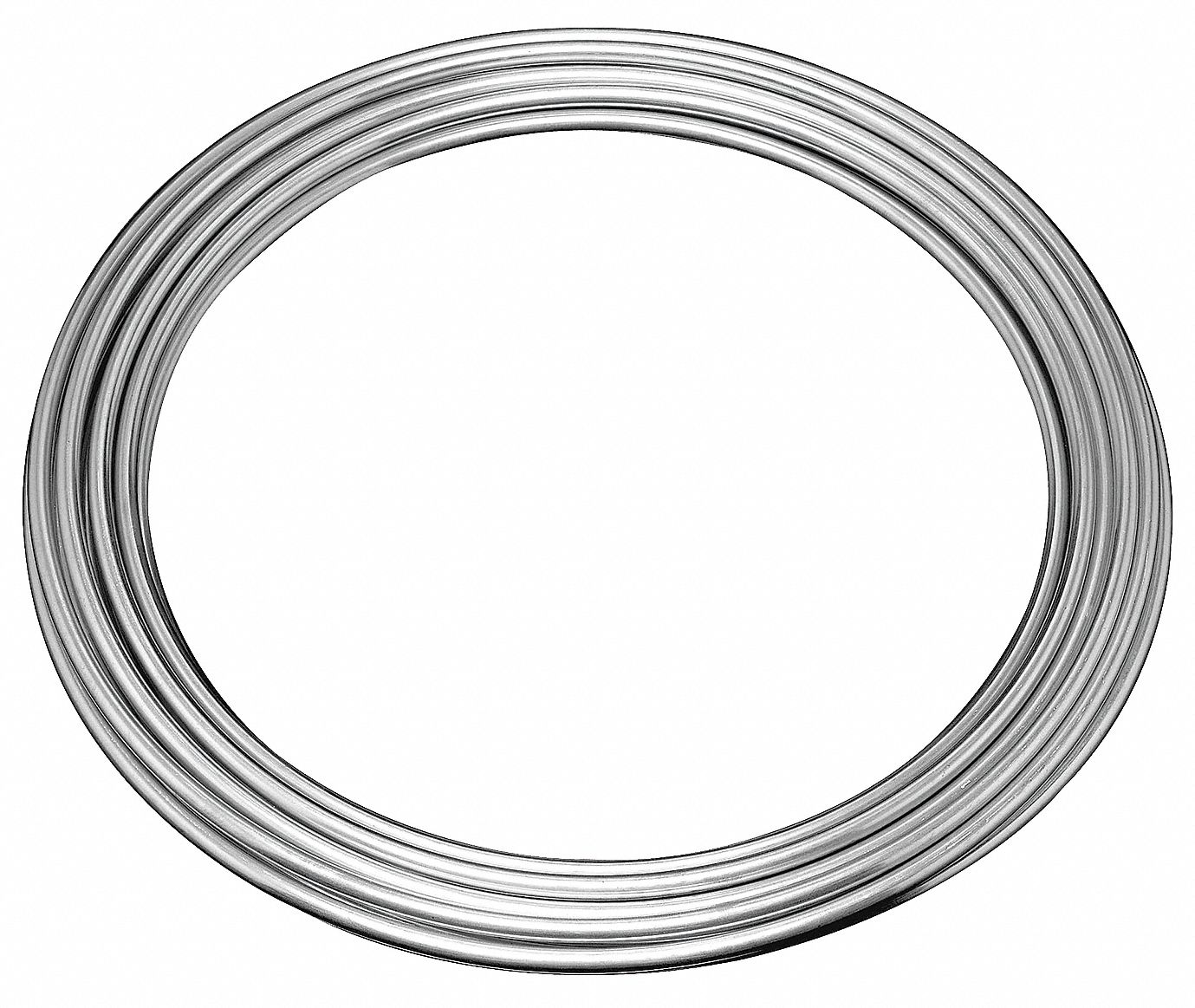Brake Line Coil,  1/4 in OD,  25 ft Length,  Steel