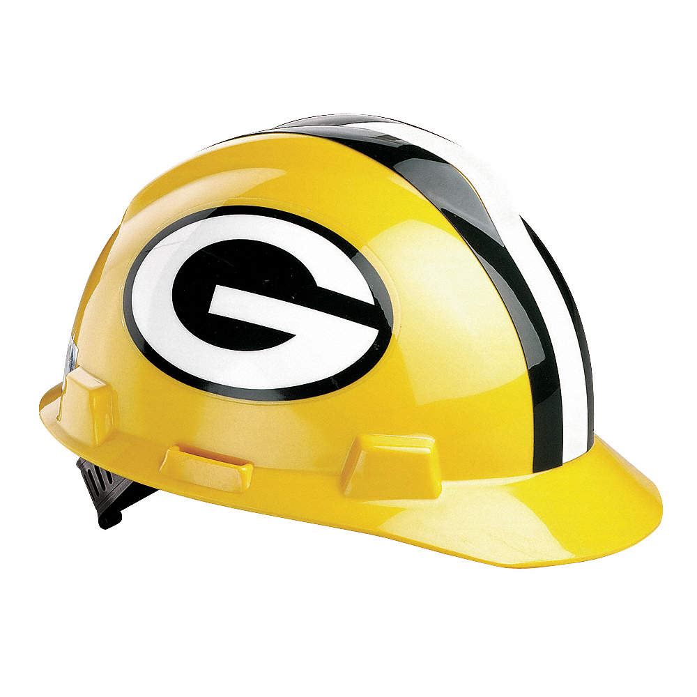 4a66c4d8 V-Gard Green Bay Packers NFL Hard Hat, Size: 6-1/2 to 8