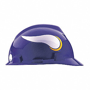 V-Gard Minnesota Vikings NFL Hard Hat, Size: One Size Fits Most