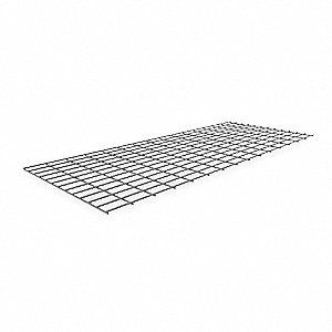 "60"" x 24"" Wire Mesh Decking with 500 lb. Load Capacity"