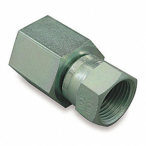 Female NPT to Female JIC Straight Hydraulic Hose Adapter