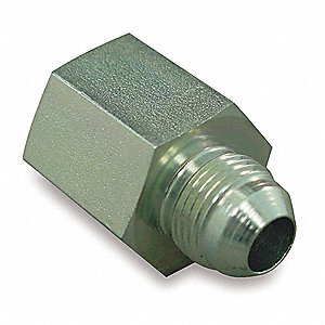 FNPT to MJIC Straight Hydraulic Hose Adapter