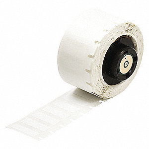 Printer Label,1 In. W,Polyester,PK750