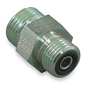 Male ORS Straight Hydraulic Hose Adapter