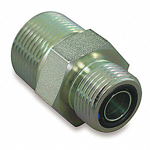 ORS to MPT Straight Hydraulic Hose Adapter