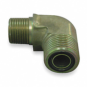 ORS to MPT Elbow Hydraulic Hose Adapter