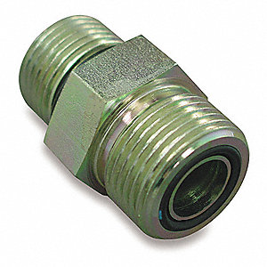 Male ORB to Male ORS Straight Hydraulic Hose Adapter