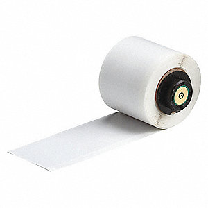 "White on Translucent, 50 Labels per Roll  6"" H x 1-1/2"" W, 50 PK"