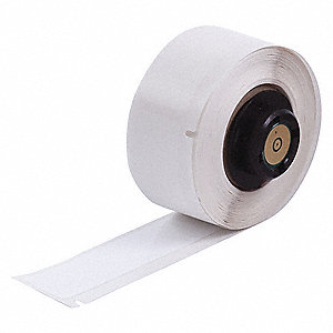 "Label, White, 1/2""W x 50 ft."