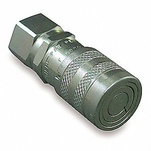 "1/2""-14 Steel Hydraulic Coupler Body"