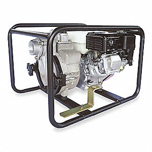 5.5 HP Aluminum 163cc Engine Driven Centrifugal Pump, 3.81 qt. Tank Capacity