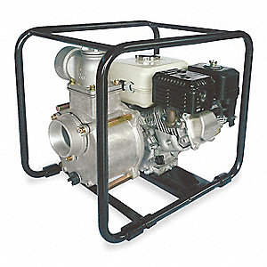 5.5 HP Aluminum 163cc Engine Driven Centrifugal Pump